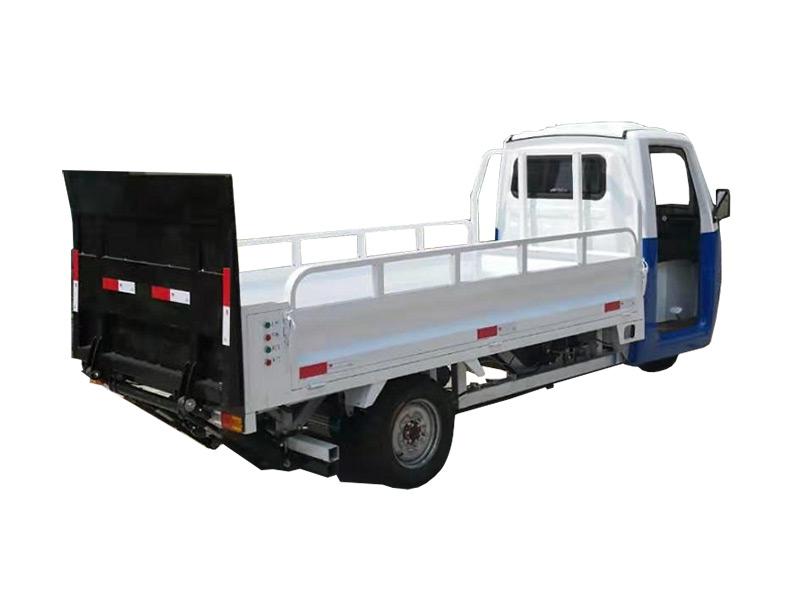 电动三轮六桶升降尾板车3DY6T-路驰洁