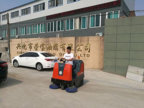 企业厂区用扫地机